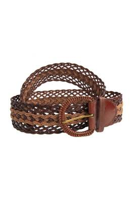 Just Women - Fascinating Saddle Brown Womens Leather Belt