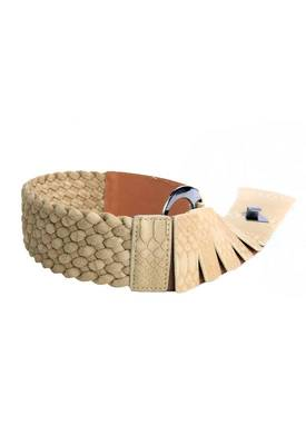 Just Women - Ravishing Burlywood Womens Leather Belt