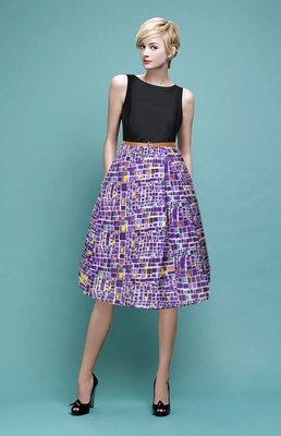 7b8596e40a5c Buy Wine Straight Taffeta and Cotton stitched dresses Online