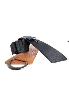 Just Women - Alluring  Sandy Brown Womens Leather Belt