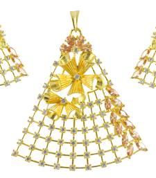 Buy Versatile pendant set with intricate design Pendant online