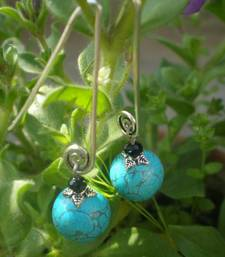 Buy Turquoise Earrings danglers-drop online