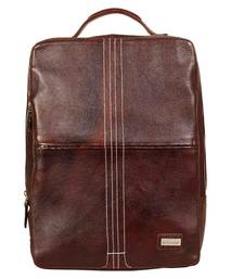 Buy Luis ricardo - go with the grain 19l genuine leather backpack bag backpack online