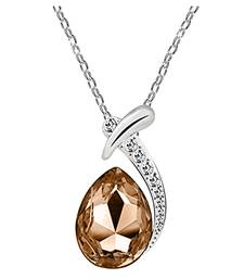 Buy Brown crystal pendants Pendant online