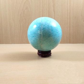 Amazonite Gem Sphere Wt. - 150-250gm  Chakra Balancing Reiki And Aura Cleansing