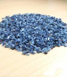 Blue Sapphire Granules Natural  Chips Wt. - 100Gms Chakra  Meditation