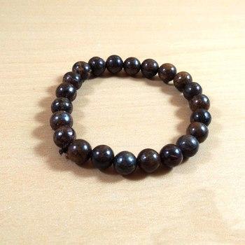 Bronzite Bead Bracelet Size 8MM Unisex Bracelet Chakra Balancing  Chakra Gem