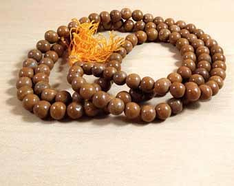 Camel Jasper Mala Bead Size - 8mm Chakra Balancing Reiki  Aura Cleansing