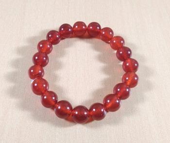 Carnelian Bead Bracelet Bead Size-10mm Gem Bracelet Bracelet Reiki Bracelet