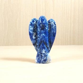 Lapis Lazuli Gem Angel Size - 2 Inch Natural Gem Chakra  Aura Cleansing