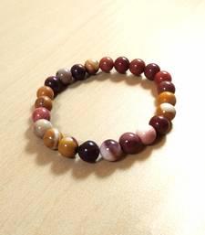 Mookaite Jasper Bead Bracelet Size 8MM Unisex Bracelet Chakra Balancing