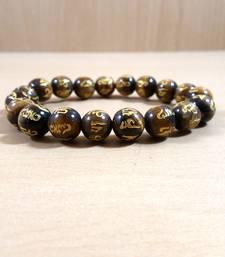 Om Mani Padme Hum Bead Bracelet Size 8MM Unisex Bracelet Chakra Balancing gemstone-bracelet