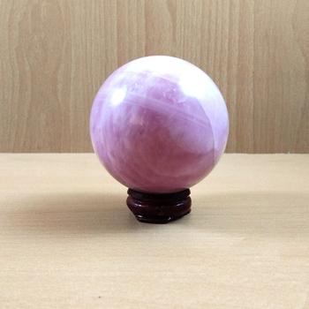 Rose Quartz Low Quality Gem Sphere Wt. - 150-250gm  Chakra Balancing Reiki