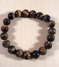 Tiger Eye Bead Bracelet Bead Size-10mm Gem Bracelet Bracelet Reiki Bracelet