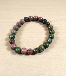 Unakite Gem Bead Bracelet Size 8MMfor men & woment Chakra  Bracelet gemstone-bracelet