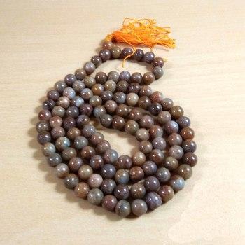 Unakite Natural Mala Bead Size - 8MM Chakra Balancing Reiki  Aura Cleansing