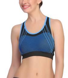 Buy Black Color Sports Bra. sports-bra online