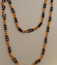 Buy Gold agate mangalsutra mangalsutra online