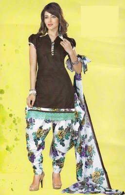 Dress Material Lawn Cotton Prints Unstitched Salwar Kameez Suit D.No PD102
