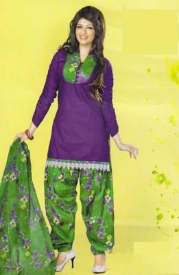 Dress Material Lawn Cotton Prints Unstitched Salwar Kameez Suit D.No PD 103