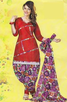Dress Material Lawn Cotton Prints Unstitched Salwar Kameez Suit D.No PD 104