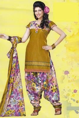 Dress Material Lawn Cotton Prints Unstitched Salwar Kameez Suit D.No PD107