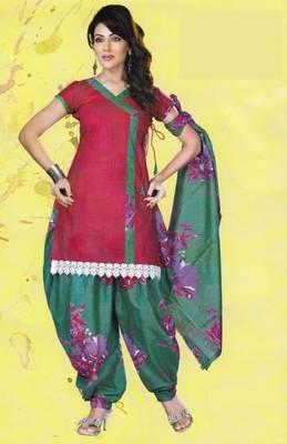 Dress Material Lawn Cotton Prints Unstitched Salwar Kameez Suit D.No PD110