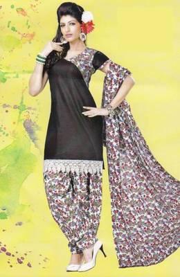 Dress Material Lawn Cotton Prints Unstitched Salwar Kameez Suit D.No PD112