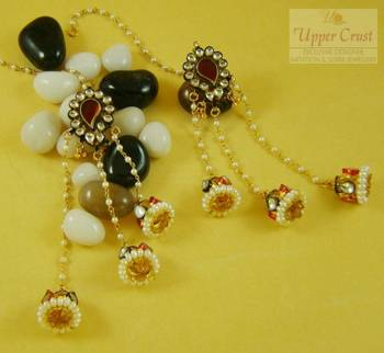 Kundan Kashmiri Jhumki Jhumka Earrings
