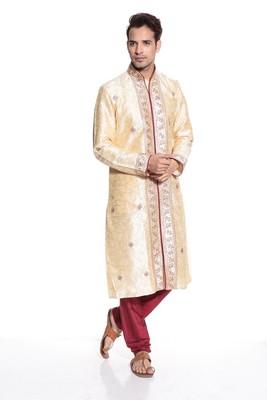 Indian Poshakh Kurta Pajama Jal And Hand Work
