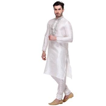 Indian Poshakh Kurta Pajama  Machine Embriodery