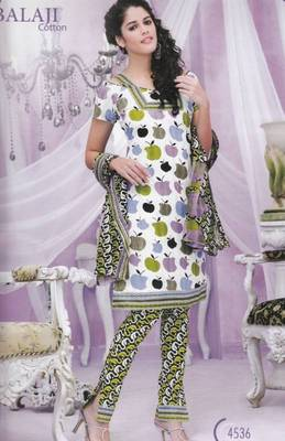 Dress Material Cotton Digital Print Unstitched Salwar Kameez Suit D.No 4536
