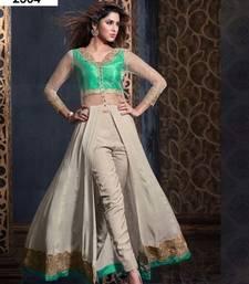 Buy Multicolor embroidered georgette salwar wedding-salwar-kameez online