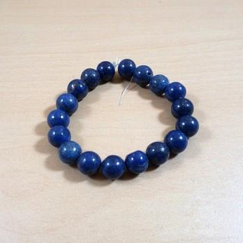 Exclusive Offer!! Lapis Lazuli Bead Bracelet Size 8MM Set Of 3
