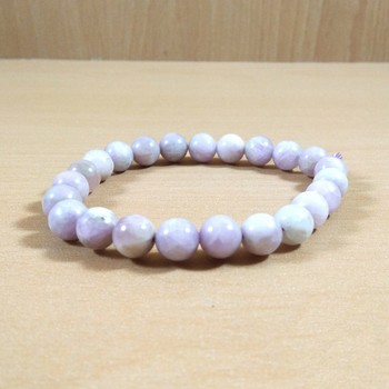 Exclusive Offer!! Kunzite Bead Bracelet Size 8MM Set Of 3