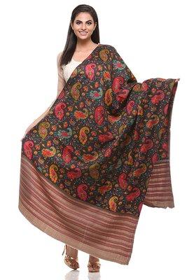 99f3b2a743 Multi Wool Embroidered Pashmina shawl - Pashtush - 2457703