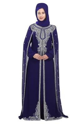 Bridal Wear kaftan With Unique Embroidery Design