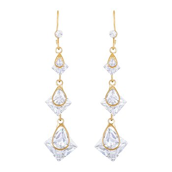 Gold Diamond Danglers Drops