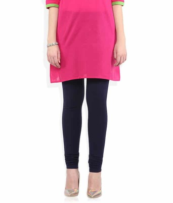 Sumer plum churidaar cotton leggings