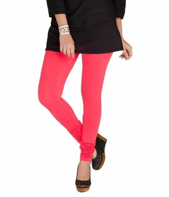 Rose qurtz pink churidaar cotton leggings