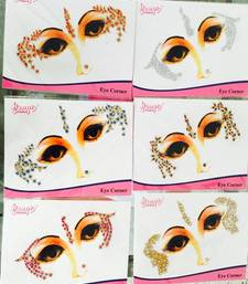6 Colour Gold Crystal Sticker Eye Corner Face Tattoo