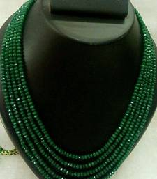 royal green 5 line onex beads mala