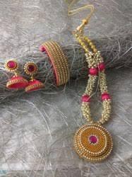 Pink diamond necklaces