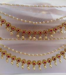 Buy Pink AD Ear Side Chain Set Other online