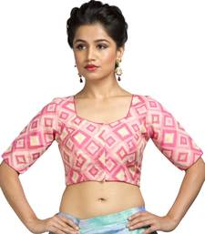 Pink Color Cotton Padded Blouse