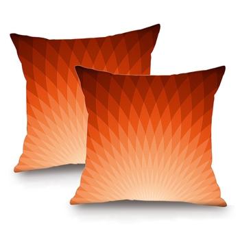 Sun Digital Printing Cushion Cover - Set of 4 (16 x 16 Inch)