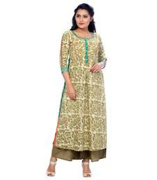 Green none cotton salwar