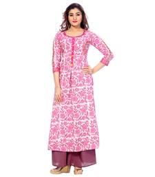 Pink none cotton salwar