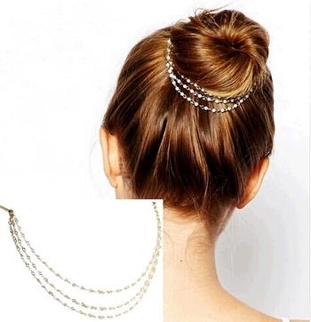 Pearl Stone Designer Hair Accessories