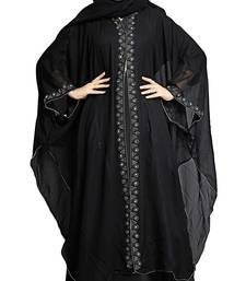 Black Color Burkha Hood Cap  and Hijab Scarf